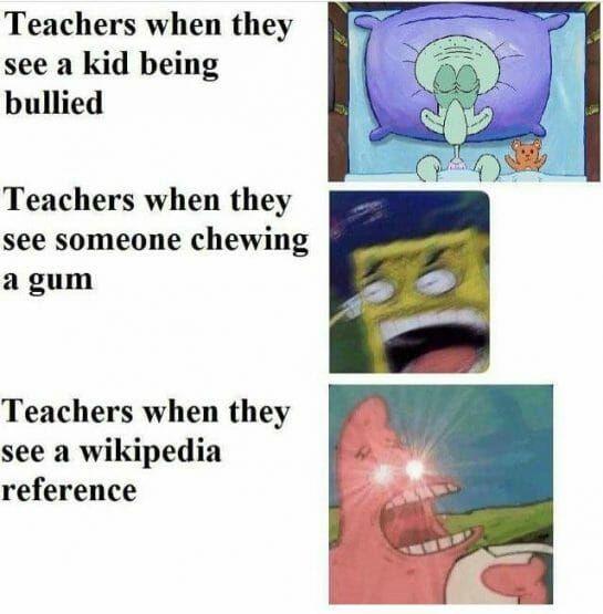 Teacher logic - meme