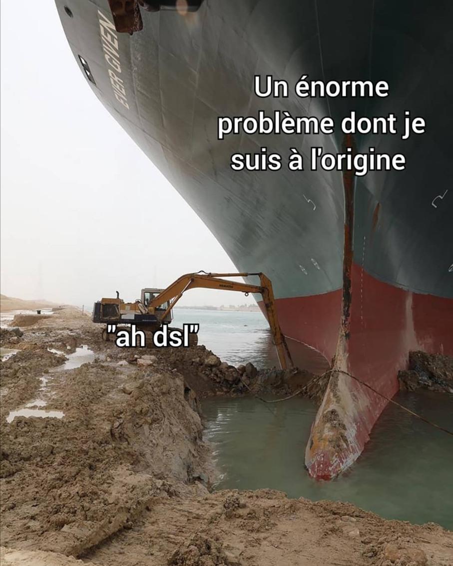 Excuse non valable - meme