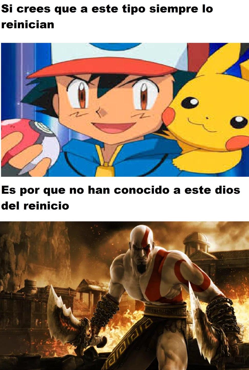 Reinicio - meme