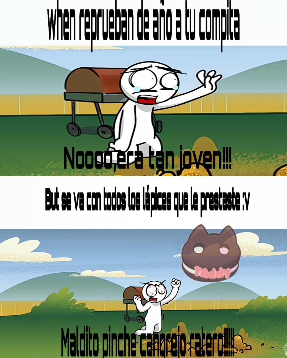 Recién horneadito UwU - meme