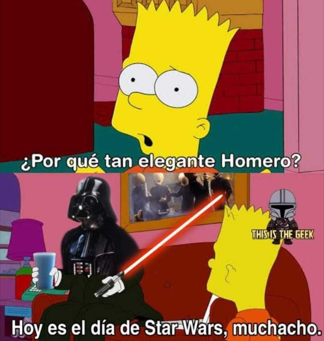 Feliz día a todos los fans de Star Wars, menos a los que creen que la última fue buena - meme