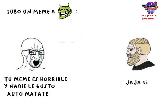me pasa - meme