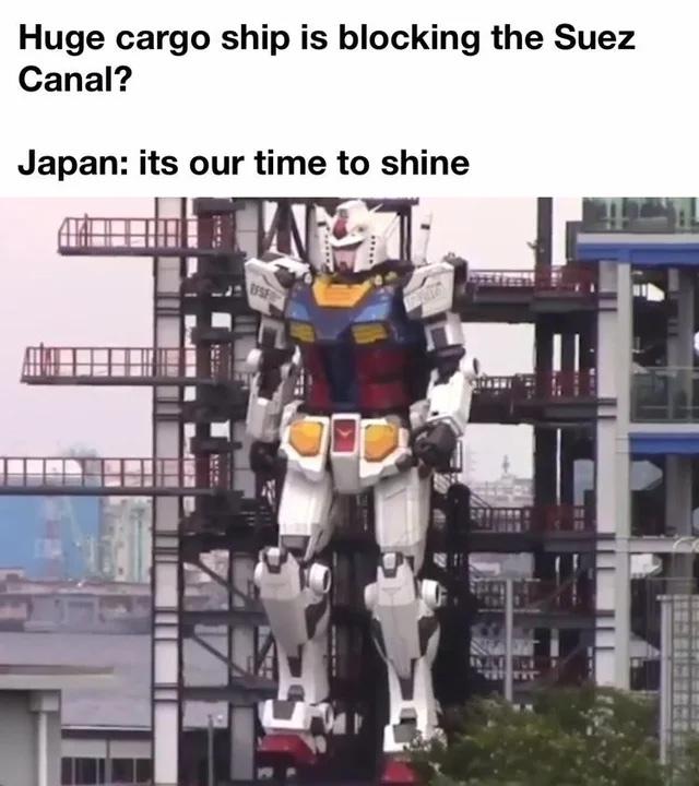 Japan: hold my beer - meme