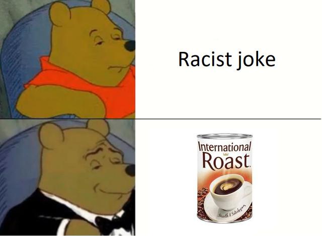 Don't call it racist joke - meme