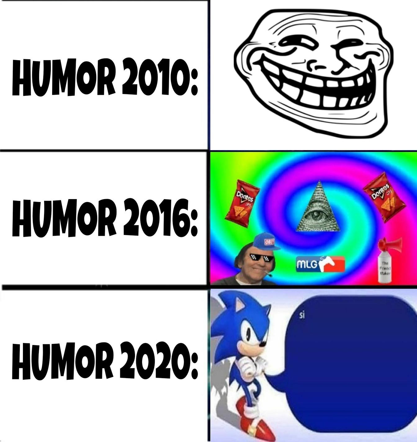 La evolución de los memes XD, no me imagino cómo será en 2050