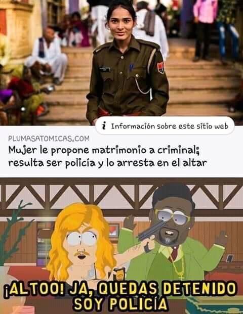 soy policia - meme