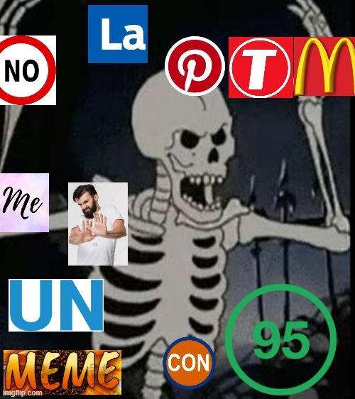 El hombre de hay es rechazaron - meme