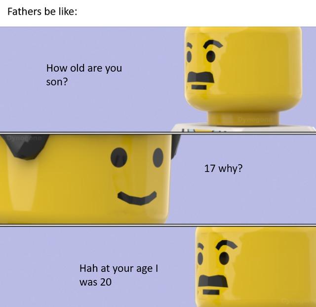 Fathers be like - meme