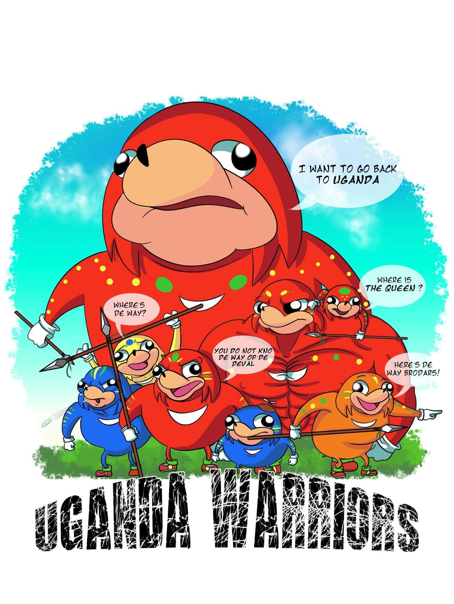 The uganda way - meme