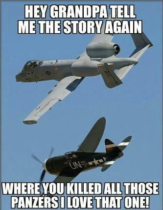 """""""Ei Vô, conte-me novamente aquela história de quando você destruiu todos aqueles Panzers, eu amo essa. - meme"""