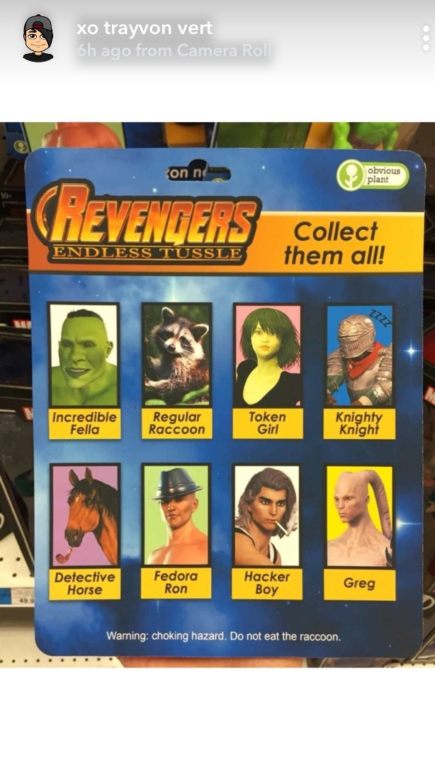 They forgot Thanos - meme