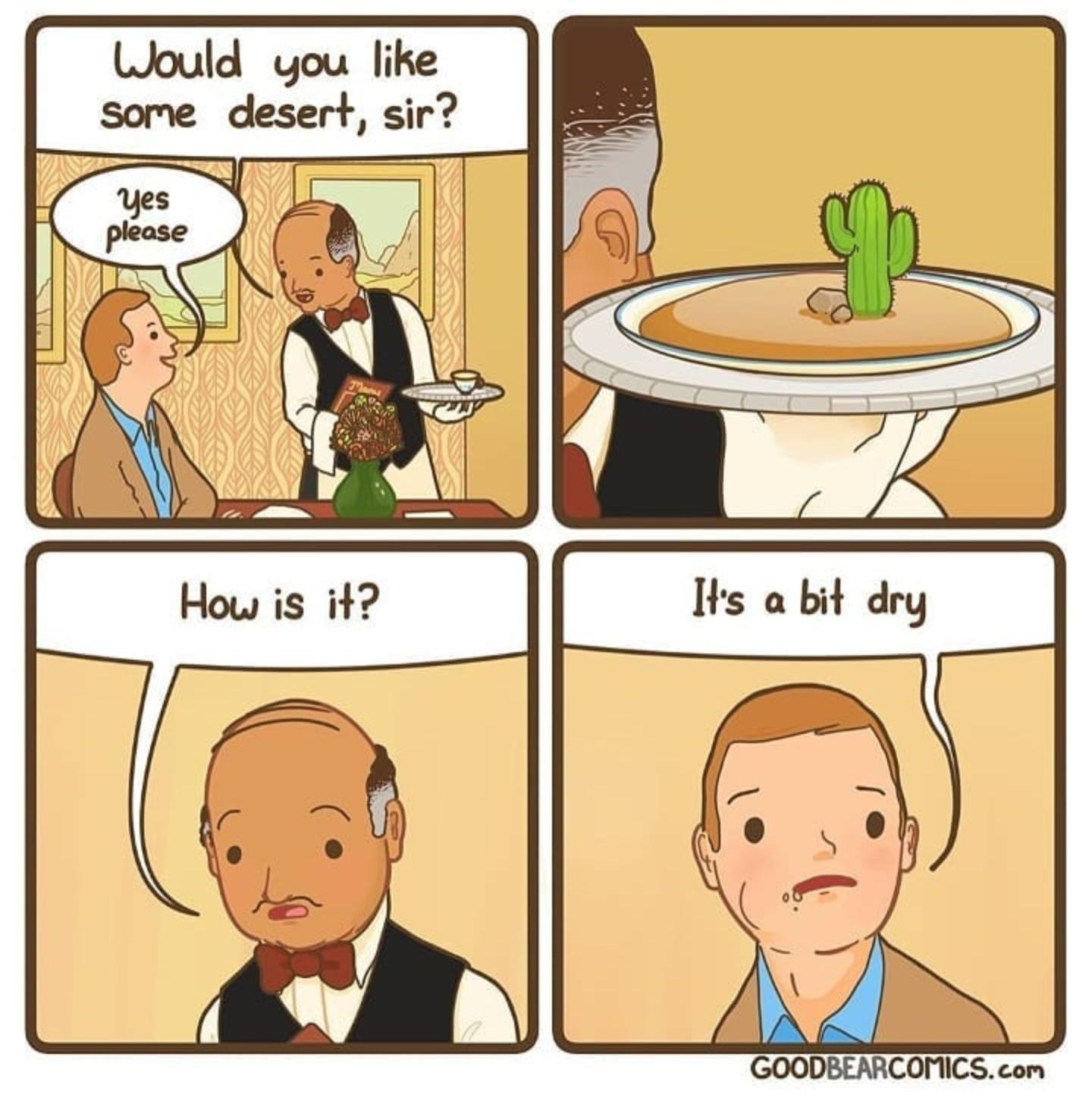 Cactus juice is the best - meme