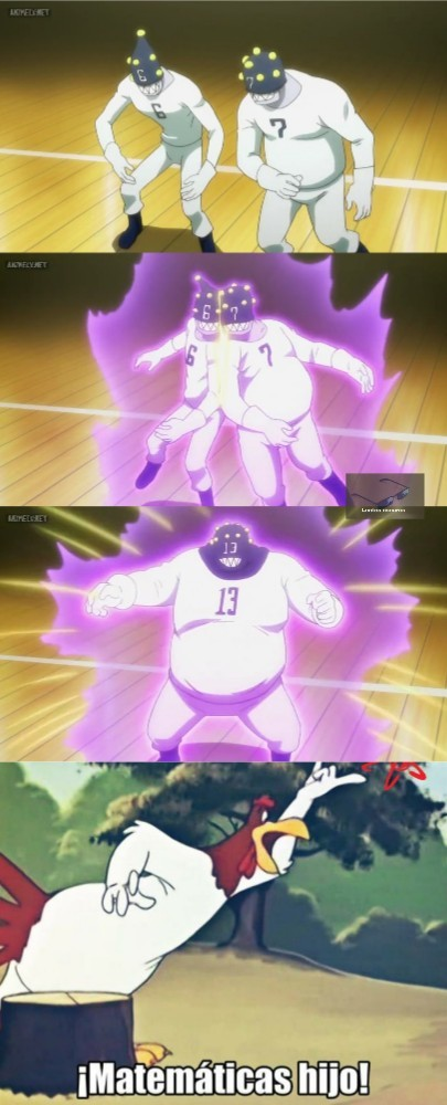 Fusion de jugadores de delegado-quemados - meme