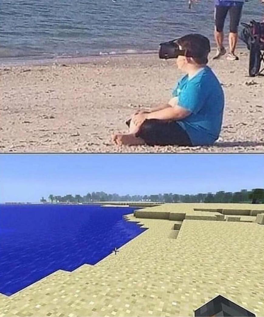 praia - meme