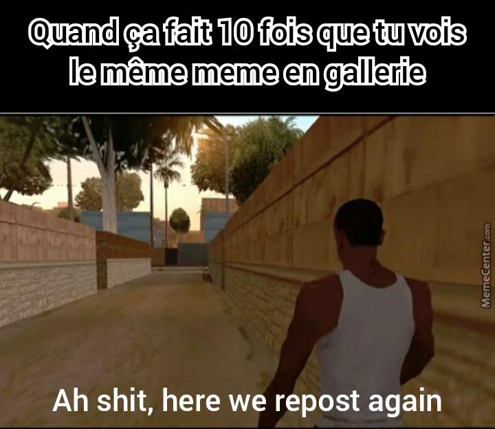 Again and again - meme