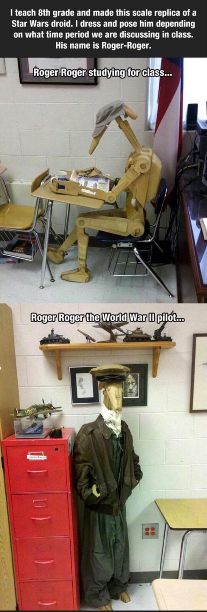 Roger roger that - meme