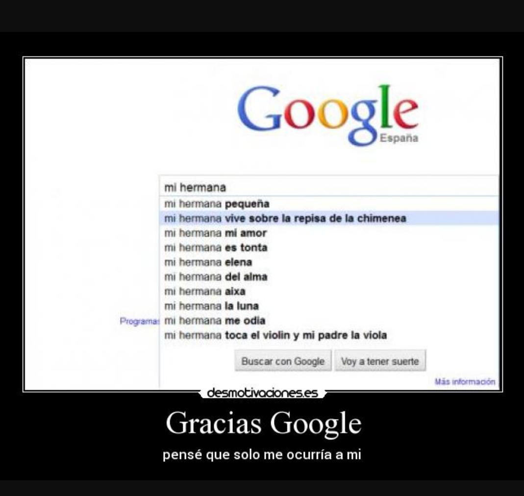 Google tu si me entiendes :') - meme