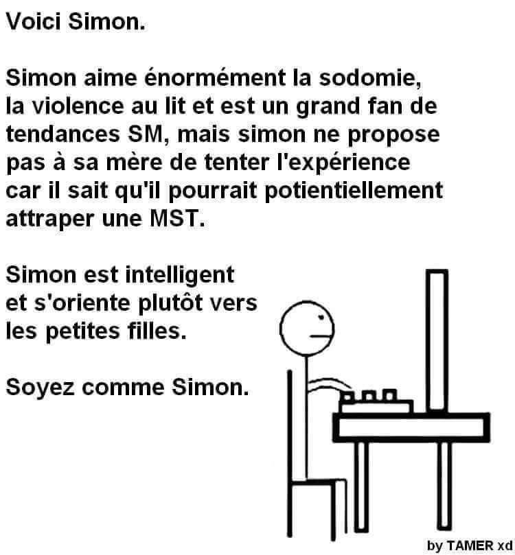 Simon, cet exemple pour nous tous - meme