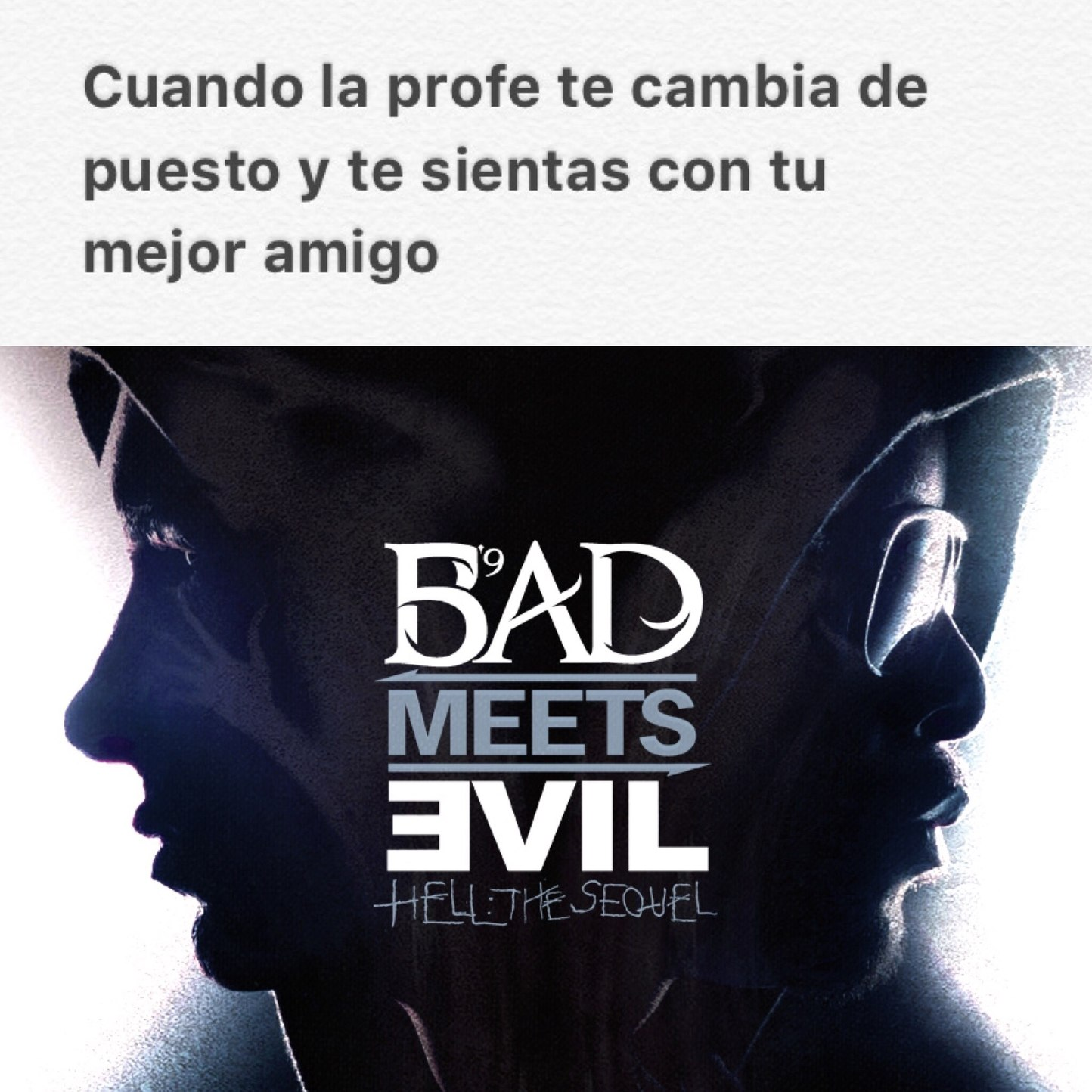 Bad Meets Evil - meme