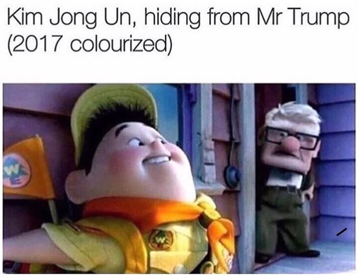 Kim Jong Un just shat himself - meme