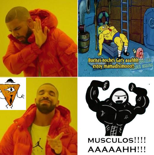 Pinchimono musculos - meme