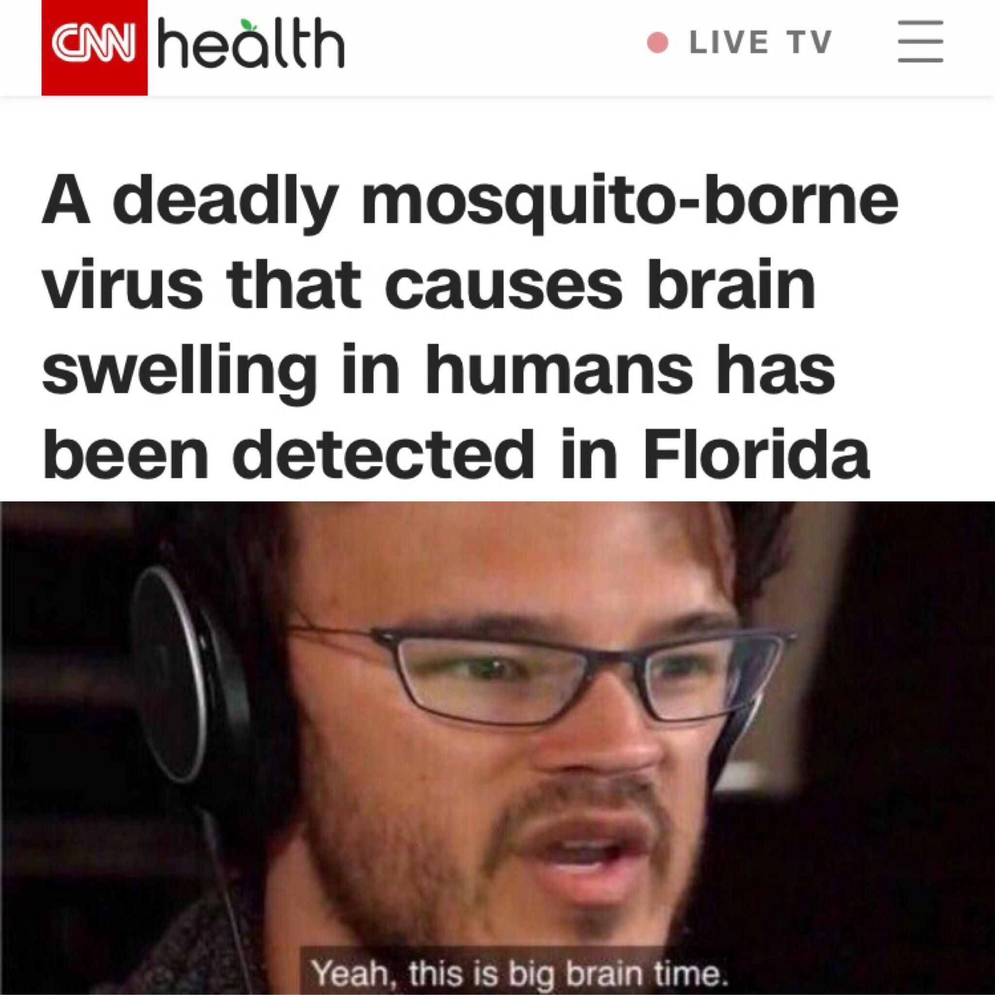 Florida man will become invincible - meme
