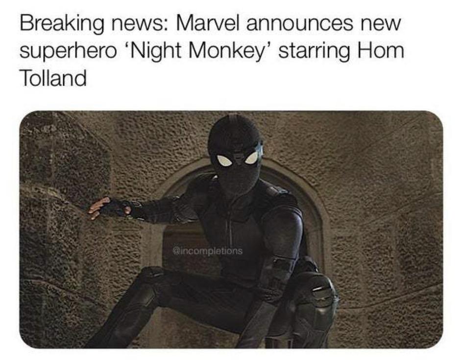 Night monkey! - meme