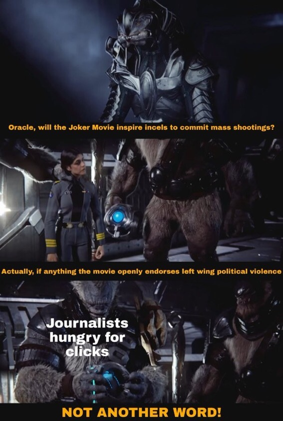 dongs in a journalist - meme