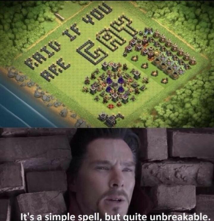 o título invadiu a vila - meme