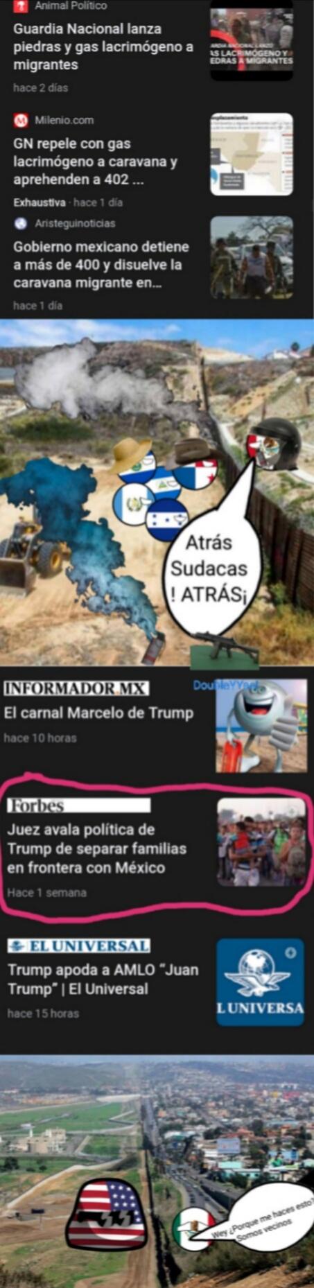 Todas las noticias son reales - meme