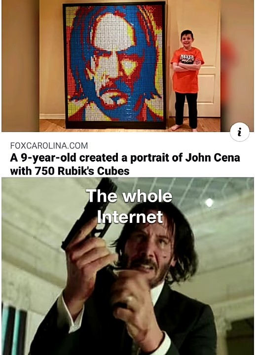 Its John Wick not John Cena!!!! - meme