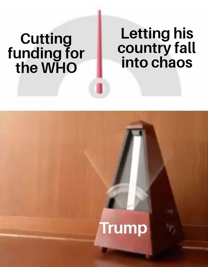 Trump be like - meme