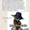 Mucho texto