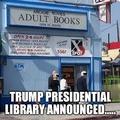 Trump Presidential Library