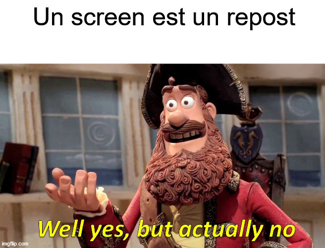 Je ne vise personne - meme