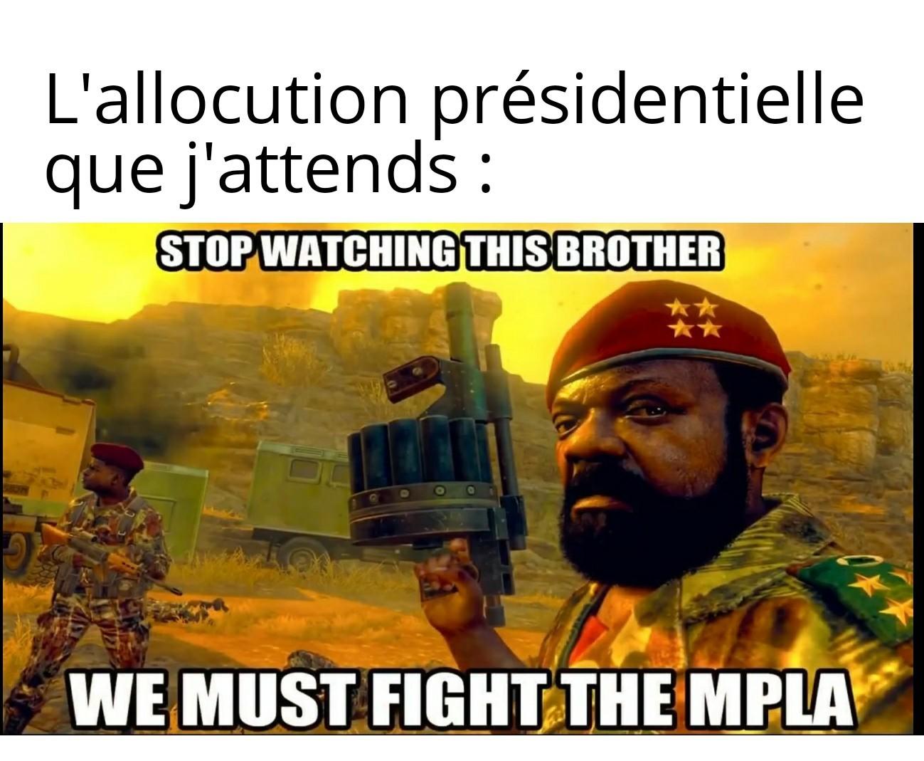 Nous sommes en guerre - meme