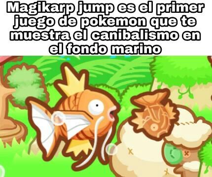 Magikarp jump :) - meme