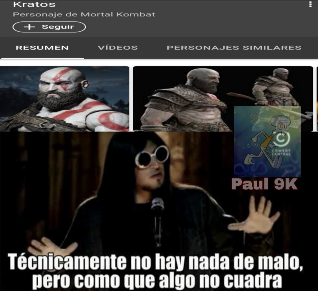Shaggy para Mortal Kombat 11 - meme