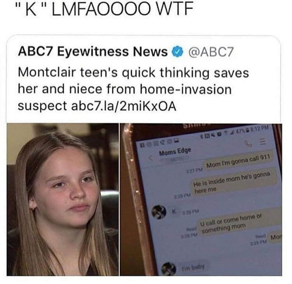 K lmfao - meme