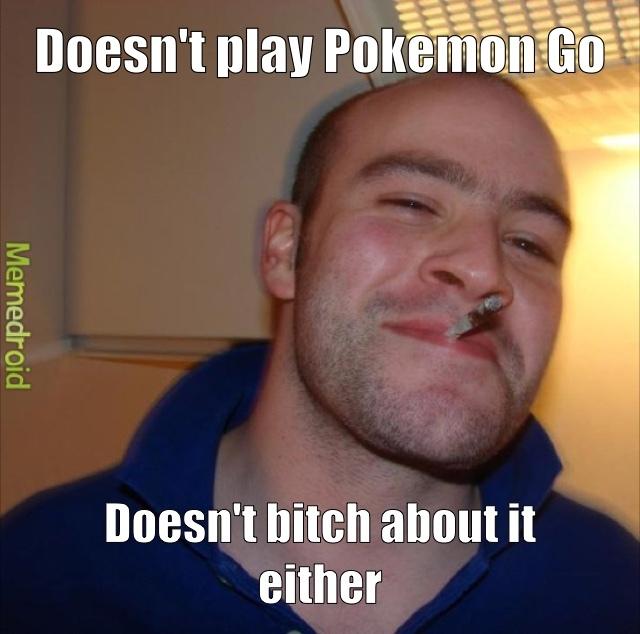 Nobody cares that you don't like Pokemon - meme