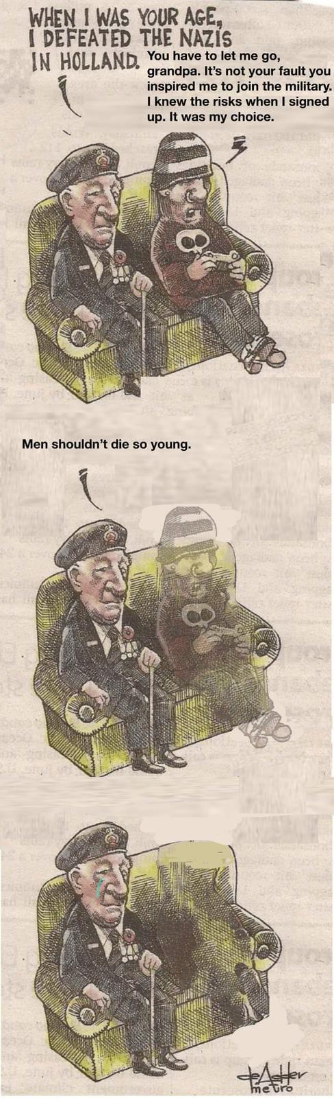 Sad meme war time