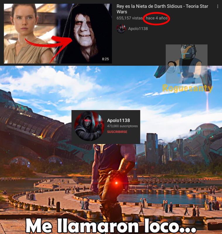 Les recuerdo que The Rise Of Skywalker salió en 2019 - meme