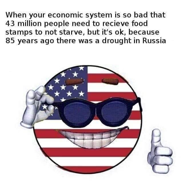 Capitalism bad - meme