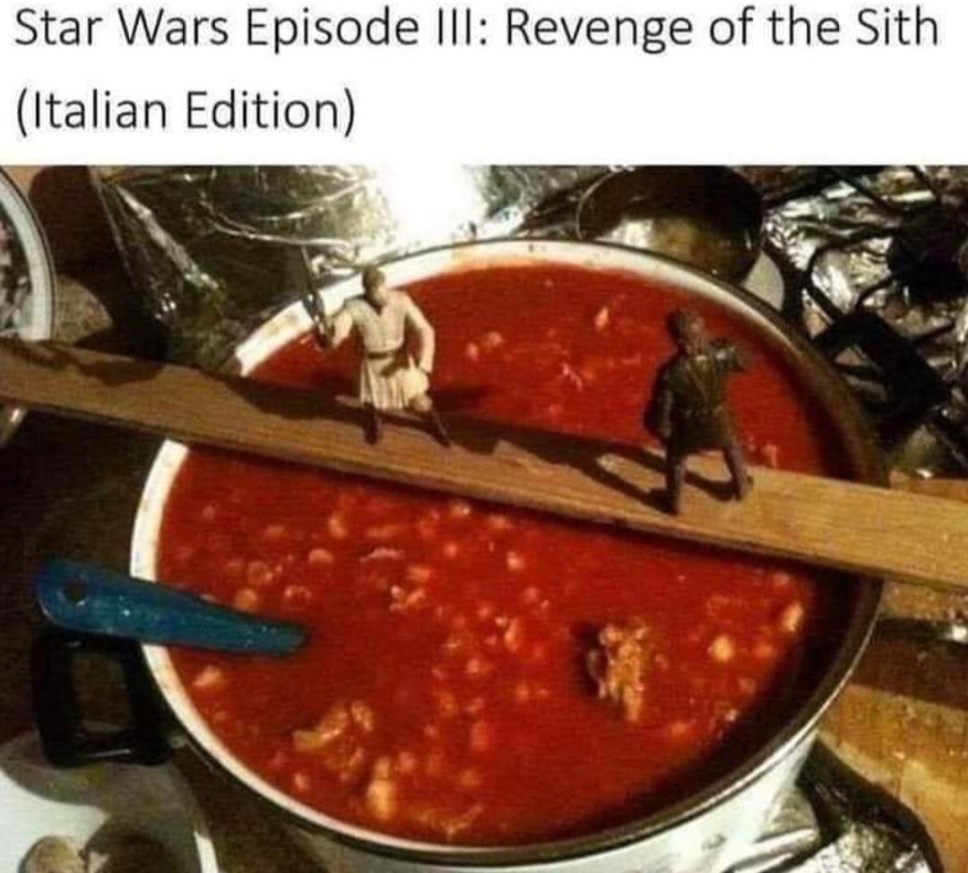 I have the High spaghetti - meme
