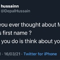 what was bean's first name tho ?