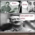 Iósif y Adolf hablando de Jabón