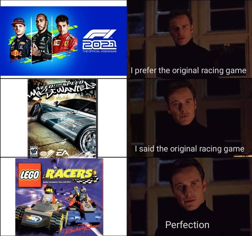 Lego Racers was the shit back in the day - meme