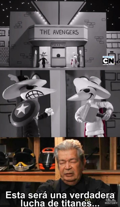 Spy vs spy - meme