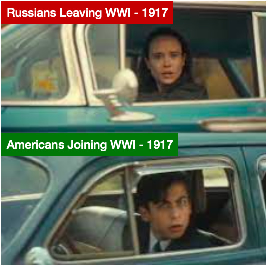 America and Russia Switching Places - meme