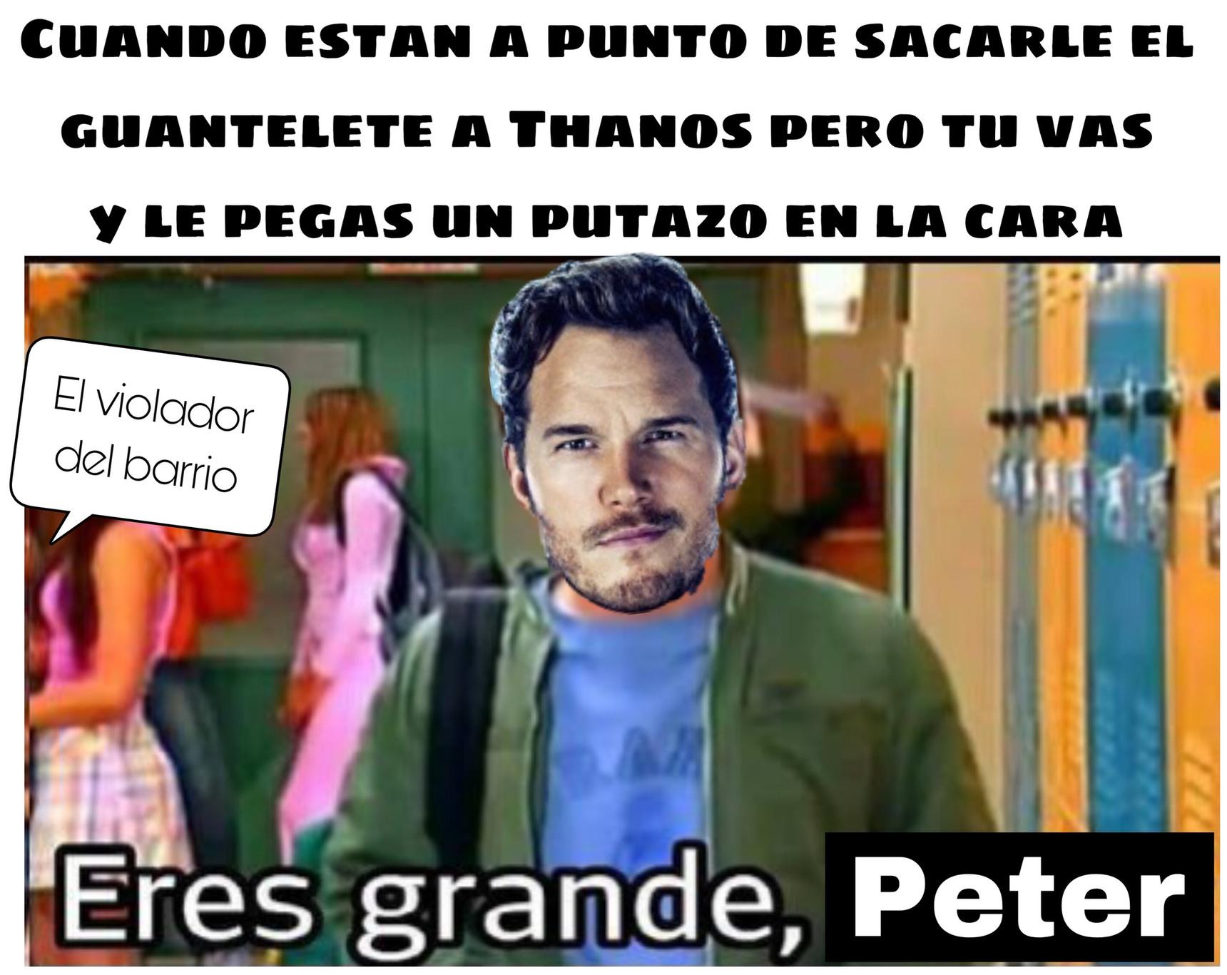 Ste Peter Quill - meme